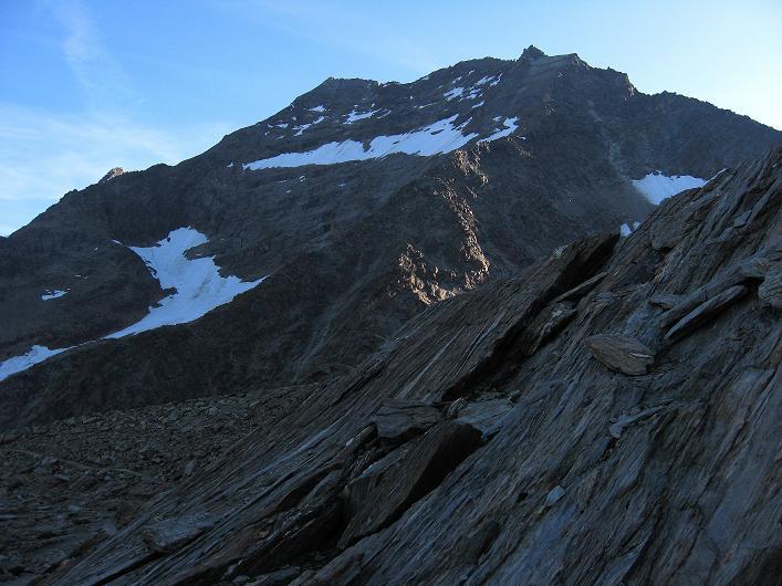 Foto: Andreas Koller / Wander Tour / Lagginhorn (4010 m) / Das Lagginhorn / 12.09.2009 15:48:37