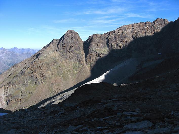 Foto: Andreas Koller / Wander Tour / Lagginhorn (4010 m) / Der Jegigrat / 12.09.2009 15:48:17
