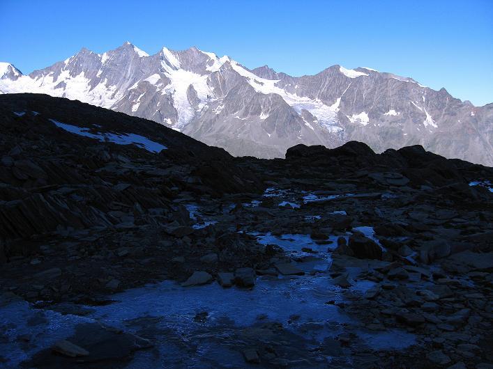 Foto: Andreas Koller / Wander Tour / Lagginhorn (4010 m) / 12.09.2009 15:47:47