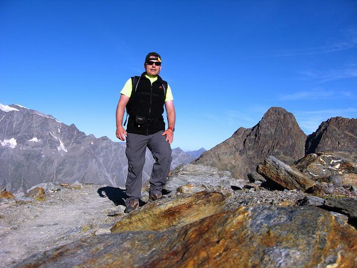 Foto: Andreas Koller / Wander Tour / Lagginhorn (4010 m) / 12.09.2009 15:47:38