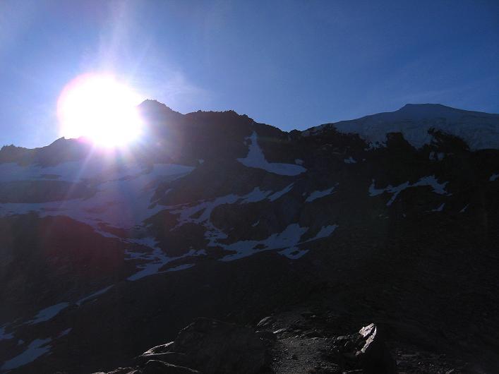 Foto: Andreas Koller / Wander Tour / Lagginhorn (4010 m) / 12.09.2009 15:47:30