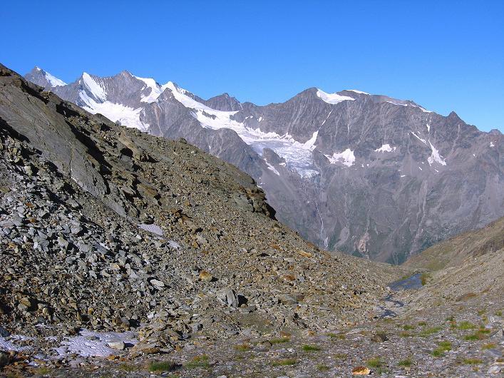 Foto: Andreas Koller / Wander Tour / Lagginhorn (4010 m) / 12.09.2009 15:47:24