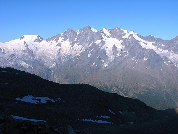 Foto: Andreas Koller / Wander Tour / Lagginhorn (4010 m) / 12.09.2009 15:47:07