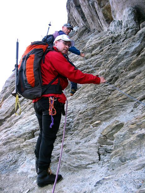 Foto: Andreas Koller / Wander Tour / Lagginhorn (4010 m) / 12.09.2009 15:47:00
