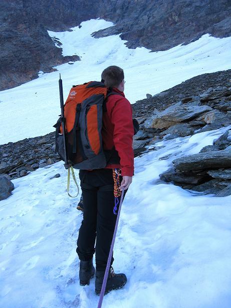 Foto: Andreas Koller / Wander Tour / Lagginhorn (4010 m) / 12.09.2009 15:46:45