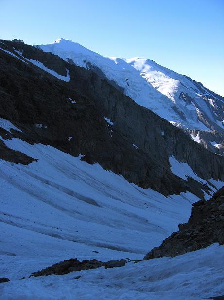 Foto: Andreas Koller / Wander Tour / Lagginhorn (4010 m) / Lagginhorn Gletscher / 12.09.2009 15:46:39