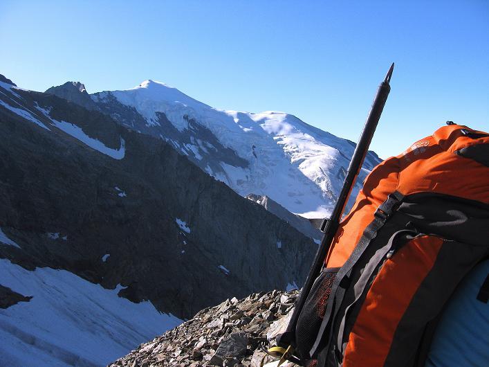 Foto: Andreas Koller / Wander Tour / Lagginhorn (4010 m) / Weißmies (4023 m) / 12.09.2009 15:46:17