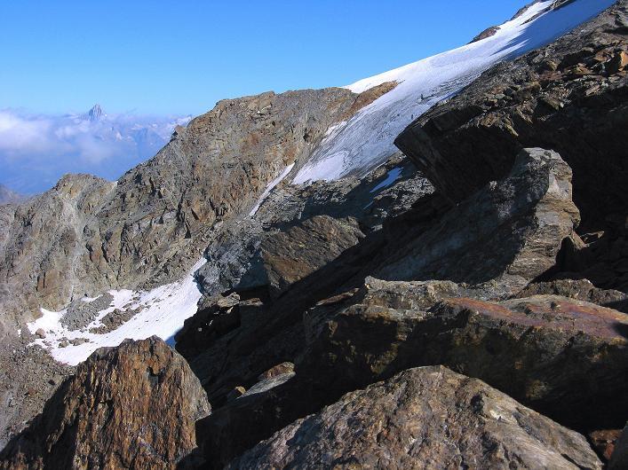 Foto: Andreas Koller / Wander Tour / Lagginhorn (4010 m) / 12.09.2009 15:46:01