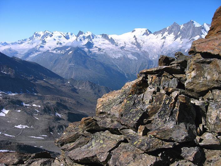 Foto: Andreas Koller / Wander Tour / Lagginhorn (4010 m) / 12.09.2009 15:45:38