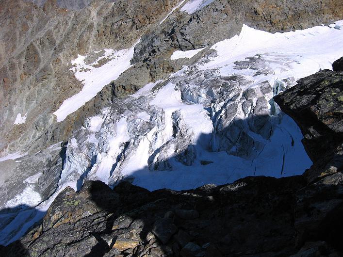 Foto: Andreas Koller / Wander Tour / Lagginhorn (4010 m) / 12.09.2009 15:43:13