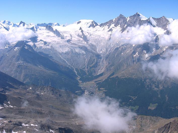 Foto: Andreas Koller / Wander Tour / Lagginhorn (4010 m) / 12.09.2009 15:42:15