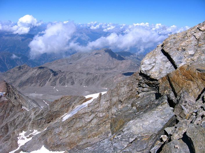 Foto: Andreas Koller / Wander Tour / Lagginhorn (4010 m) / 12.09.2009 15:41:56