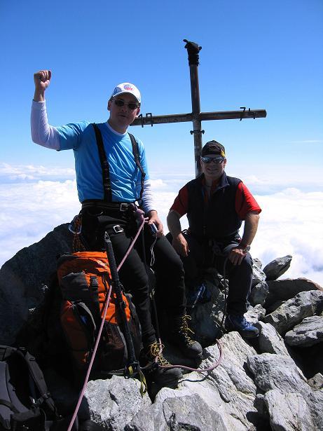 Foto: Andreas Koller / Wander Tour / Lagginhorn (4010 m) / 12.09.2009 15:41:14