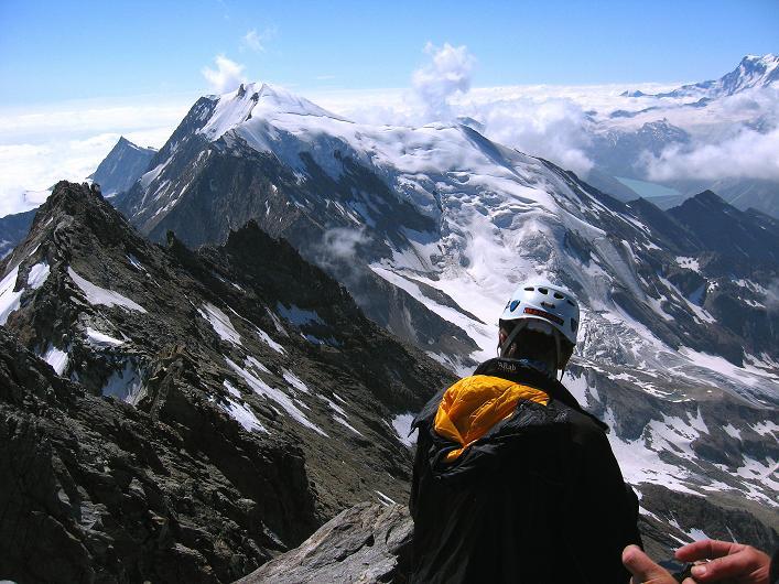 Foto: Andreas Koller / Wander Tour / Lagginhorn (4010 m) / 12.09.2009 15:41:07