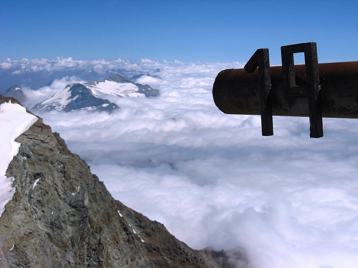 Foto: Andreas Koller / Wander Tour / Lagginhorn (4010 m) / 12.09.2009 15:40:41