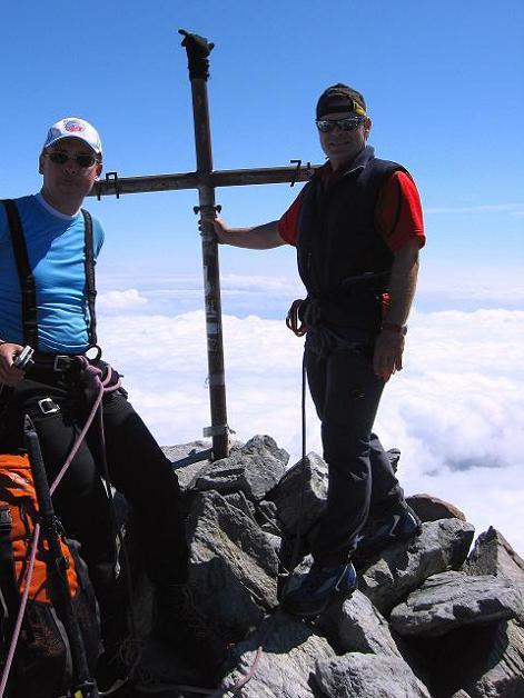 Foto: Andreas Koller / Wander Tour / Lagginhorn (4010 m) / 12.09.2009 15:39:59
