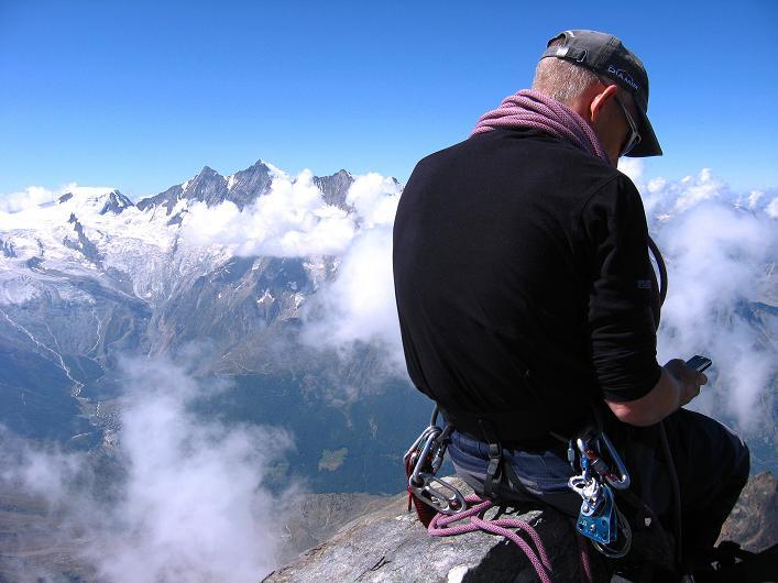 Foto: Andreas Koller / Wander Tour / Lagginhorn (4010 m) / 12.09.2009 15:39:00