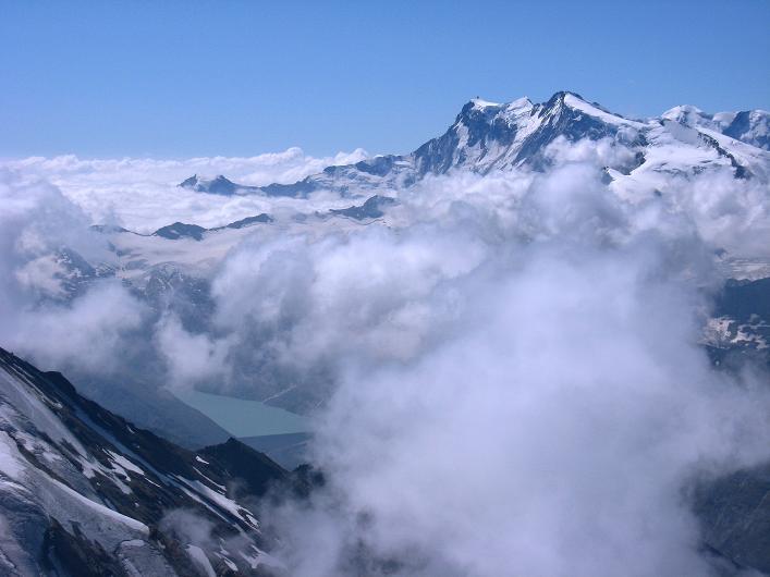 Foto: Andreas Koller / Wander Tour / Lagginhorn (4010 m) / 12.09.2009 15:38:32