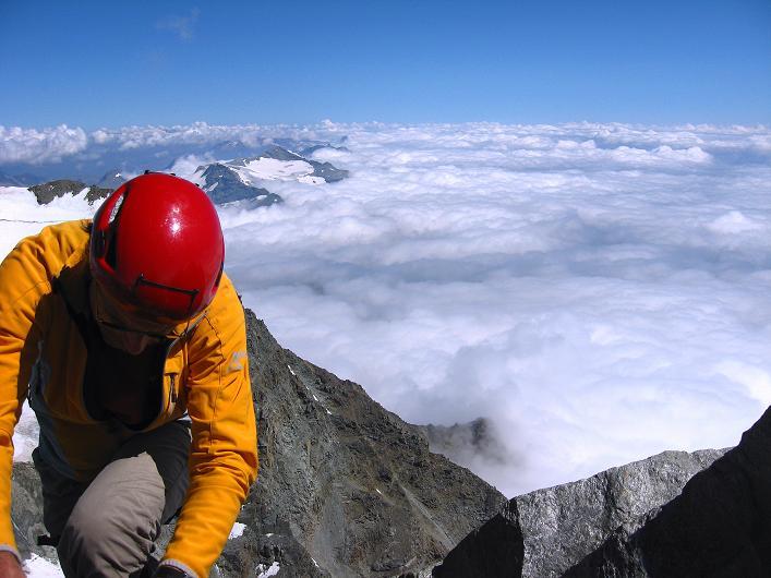 Foto: Andreas Koller / Wander Tour / Lagginhorn (4010 m) / 12.09.2009 15:38:25