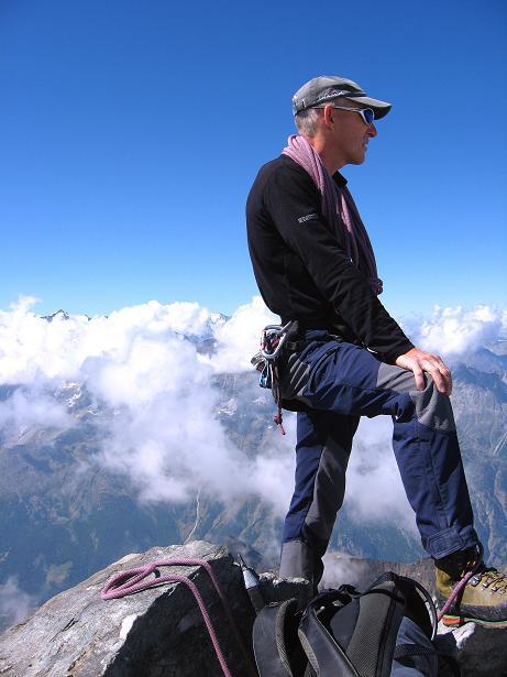 Foto: Andreas Koller / Wander Tour / Lagginhorn (4010 m) / 12.09.2009 15:38:15