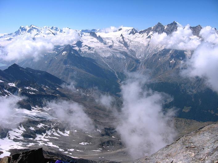Foto: Andreas Koller / Wander Tour / Lagginhorn (4010 m) / 12.09.2009 15:38:06