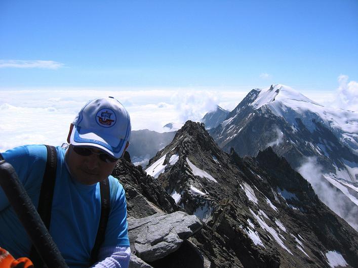 Foto: Andreas Koller / Wander Tour / Lagginhorn (4010 m) / 12.09.2009 15:37:56