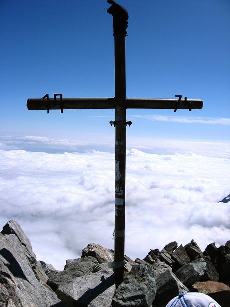 Foto: Andreas Koller / Wander Tour / Lagginhorn (4010 m) / 12.09.2009 15:37:48