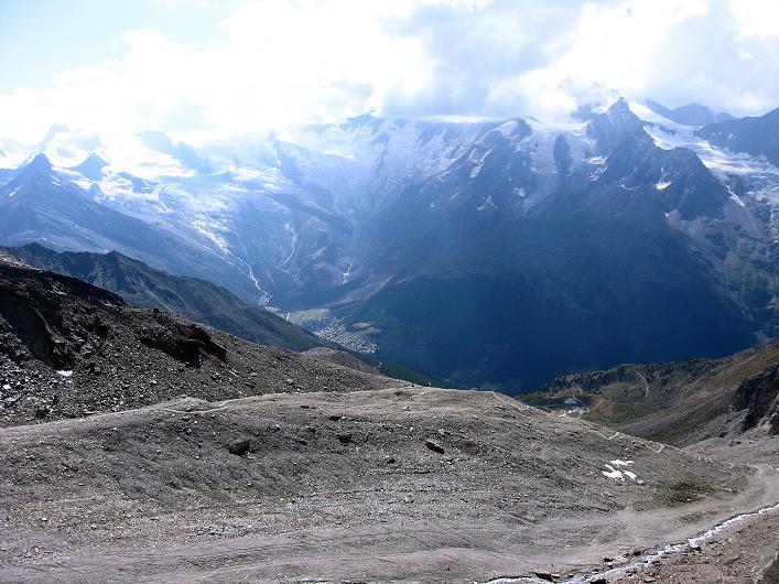 Foto: Andreas Koller / Wander Tour / Lagginhorn (4010 m) / 12.09.2009 15:36:55