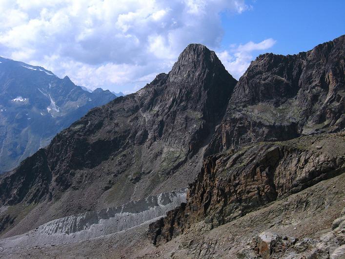 Foto: Andreas Koller / Wander Tour / Lagginhorn (4010 m) / Jegihorn (3206 m) / 12.09.2009 15:36:38