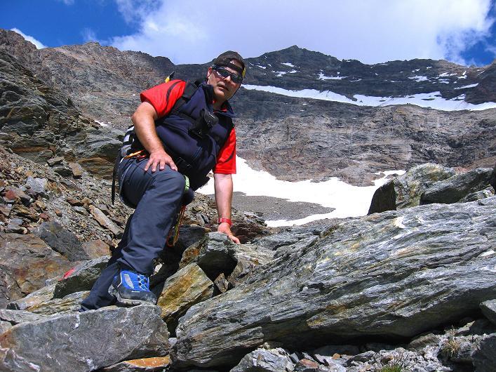 Foto: Andreas Koller / Wander Tour / Lagginhorn (4010 m) / 12.09.2009 15:35:04