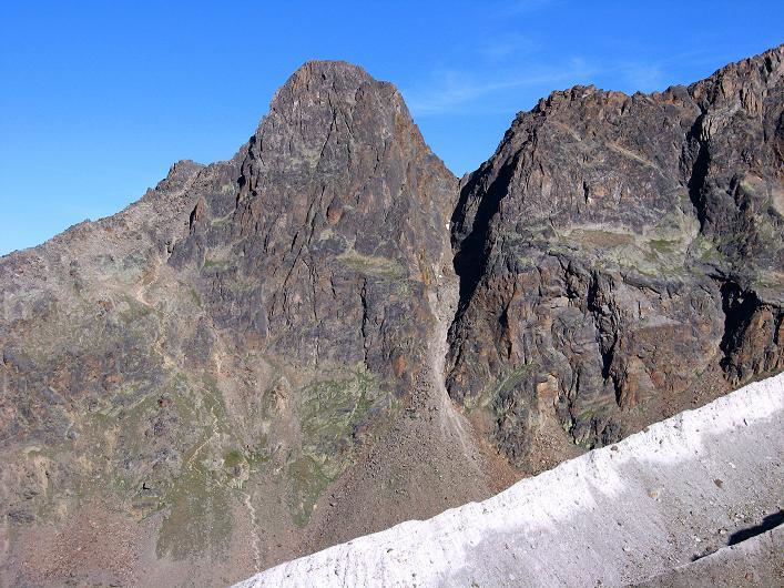 Foto: Andreas Koller / Wander Tour / Lagginhorn (4010 m) / Jegihorn (3206 m) / 12.09.2009 15:34:55
