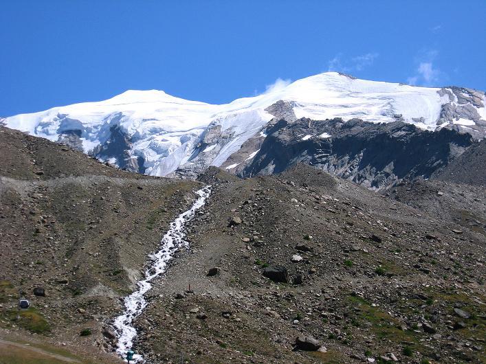 Foto: Andreas Koller / Wander Tour / Lagginhorn (4010 m) / Weißmies (4023 m) / 12.09.2009 15:34:29