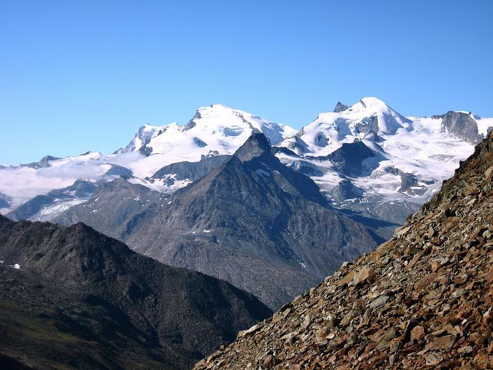 Foto: Andreas Koller / Wander Tour / Lagginhorn (4010 m) / 12.09.2009 15:34:12