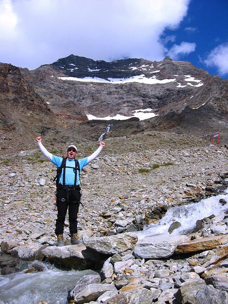 Foto: Andreas Koller / Wander Tour / Lagginhorn (4010 m) / 12.09.2009 15:33:51