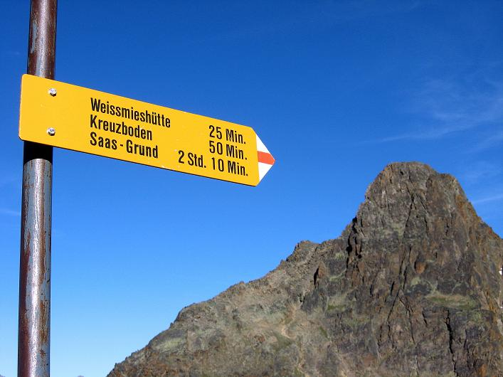 Foto: Andreas Koller / Wander Tour / Lagginhorn (4010 m) / 12.09.2009 15:33:16