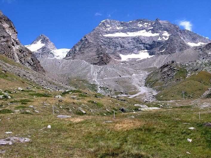 Foto: Andreas Koller / Wander Tour / Lagginhorn (4010 m) / Fletschhorn (3996 m) und Lagginhorn / 12.09.2009 15:32:19