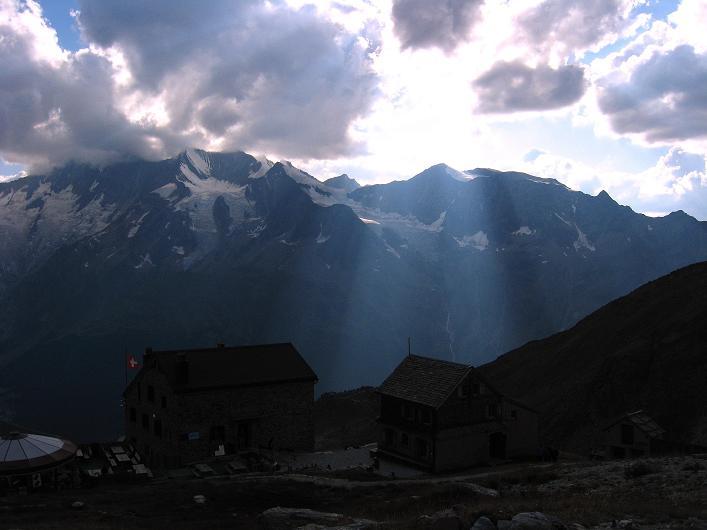 Foto: Andreas Koller / Wander Tour / Lagginhorn (4010 m) / 12.09.2009 15:31:24
