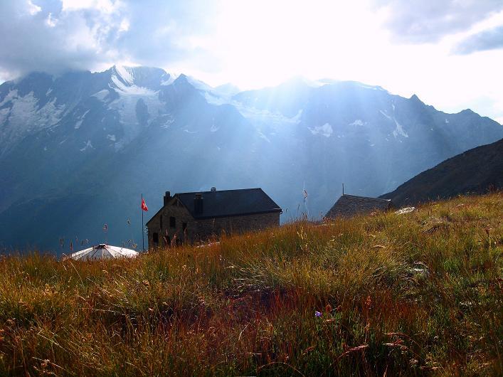 Foto: Andreas Koller / Wander Tour / Lagginhorn (4010 m) / 12.09.2009 15:31:17