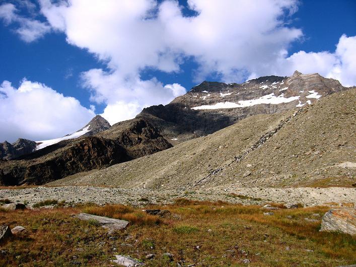 Foto: Andreas Koller / Wander Tour / Lagginhorn (4010 m) / Blick auf das Lagginhorn  / 12.09.2009 15:31:09