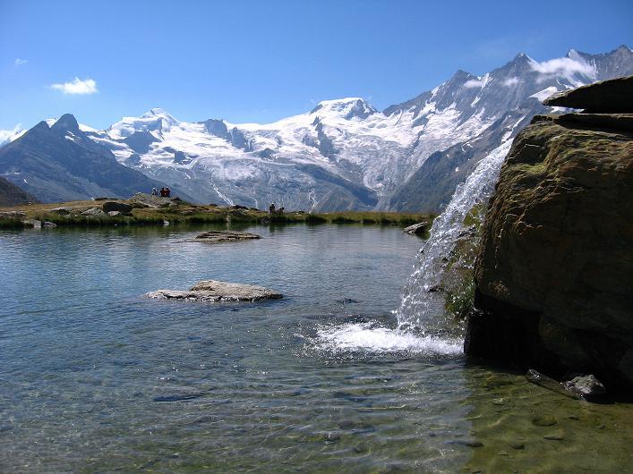 Foto: Andreas Koller / Wander Tour / Lagginhorn (4010 m) / 12.09.2009 15:30:05