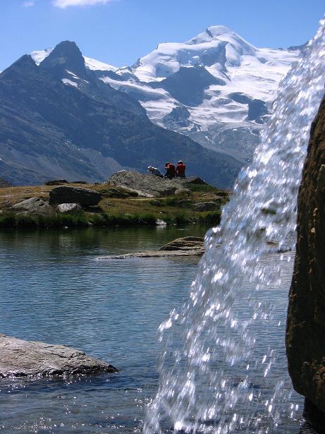 Foto: Andreas Koller / Wander Tour / Lagginhorn (4010 m) / 12.09.2009 15:29:57
