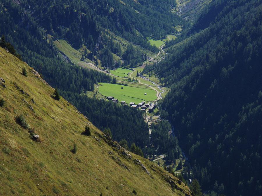 Foto: Grasberger Gerhard / Wander Tour / Riepenspitze - Villgratental / Die Oberstalleralm am Beginn des Arntales. / 31.08.2009 09:40:06