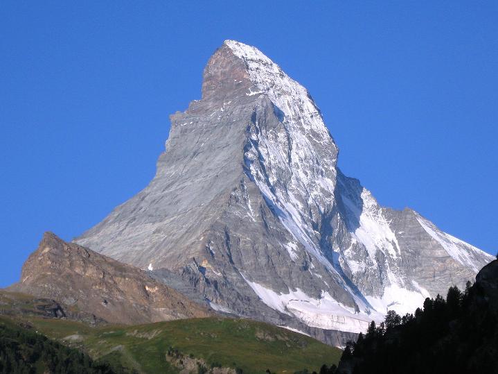 Foto: Andreas Koller / Wander Tour / Roccia Nera (4075m) - östlicher Eckpfeiler des Breithornkamms / Matterhorn (4478 m) / 08.09.2009 19:57:36