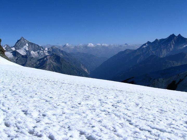 Foto: Andreas Koller / Wander Tour / Roccia Nera (4075m) - östlicher Eckpfeiler des Breithornkamms / 08.09.2009 19:56:37
