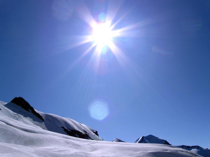 Foto: Andreas Koller / Wander Tour / Roccia Nera (4075m) - östlicher Eckpfeiler des Breithornkamms / 08.09.2009 19:55:29