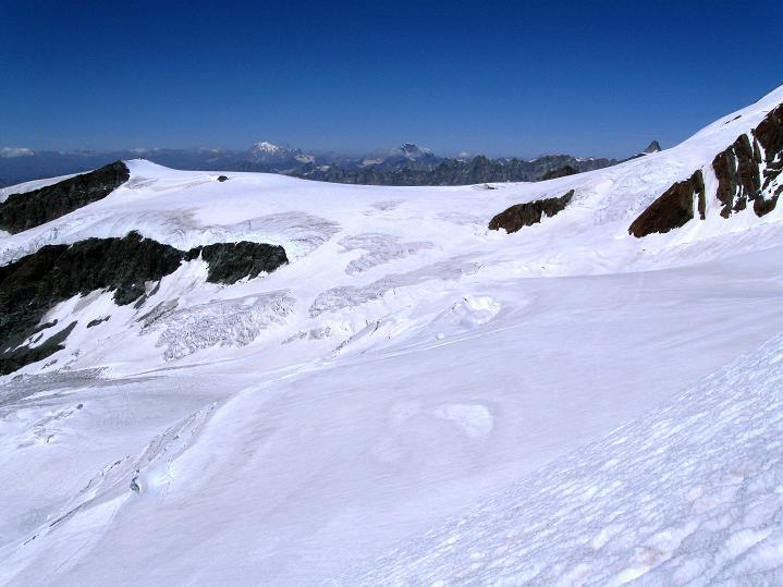 Foto: Andreas Koller / Wander Tour / Roccia Nera (4075m) - östlicher Eckpfeiler des Breithornkamms / 08.09.2009 19:53:52