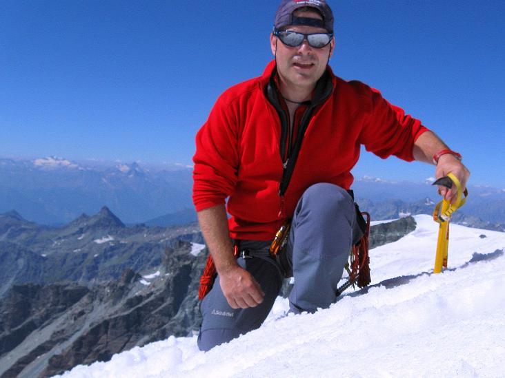 Foto: Andreas Koller / Wander Tour / Roccia Nera (4075m) - östlicher Eckpfeiler des Breithornkamms / 08.09.2009 19:51:45