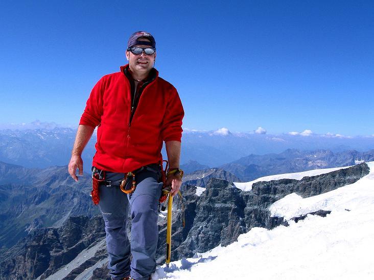 Foto: Andreas Koller / Wander Tour / Roccia Nera (4075m) - östlicher Eckpfeiler des Breithornkamms / 08.09.2009 19:50:11