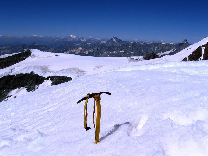 Foto: Andreas Koller / Wander Tour / Roccia Nera (4075m) - östlicher Eckpfeiler des Breithornkamms / 08.09.2009 19:50:00