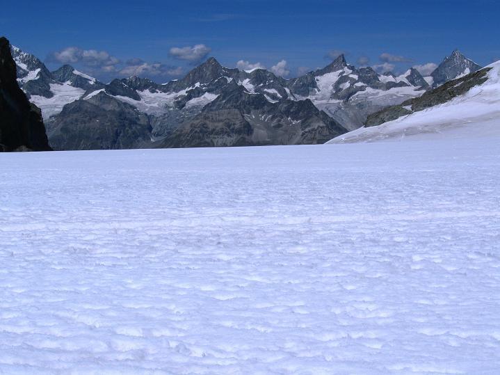 Foto: Andreas Koller / Wander Tour / Roccia Nera (4075m) - östlicher Eckpfeiler des Breithornkamms / 08.09.2009 19:44:57